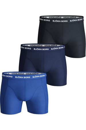 Björn Borg Boxershorts Shorts Sammy Solid Essential 3 Pack