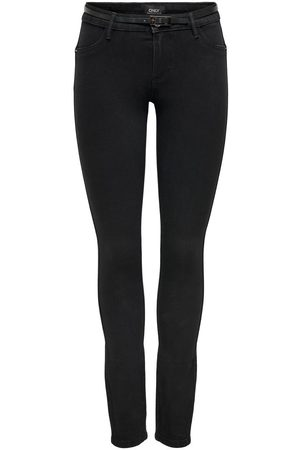 Only Onlpia Push Up Reg Riem Skinny Jeans Dames