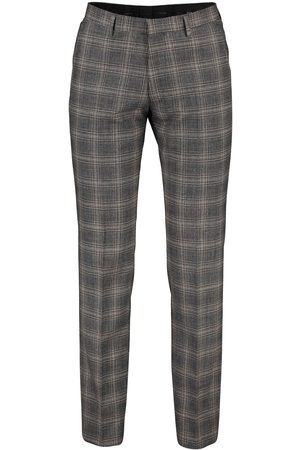 Roy Robson Pantalon Mix & Match grijs geruit