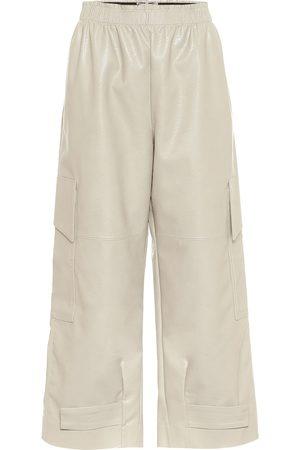 Stella McCartney Sylvia faux leather cargo pants