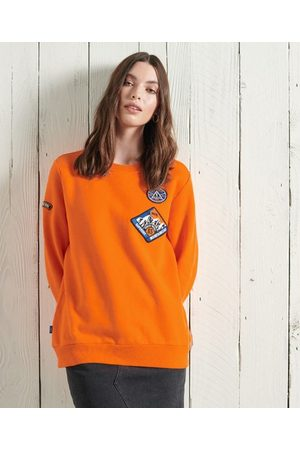 Superdry Limited Edition Standard sweatshirt met patch en ronde hals