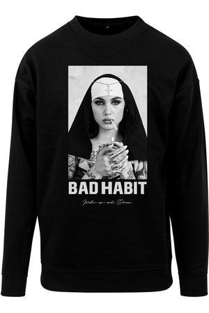 Mister Tee Shirt 'Bad Habit Crewneck