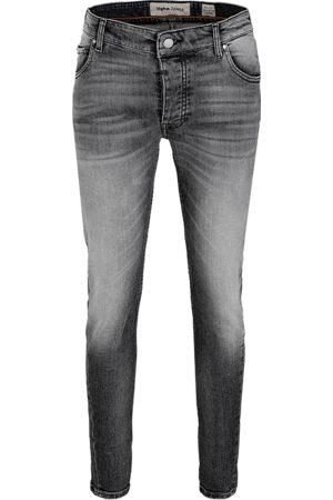 Tigha Heren Jeans - Heren Jeans Billy the kid 9941 stone wash (dark grey)