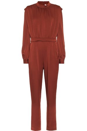 VERONICA BEARD Kavia satin crêpe jumpsuit