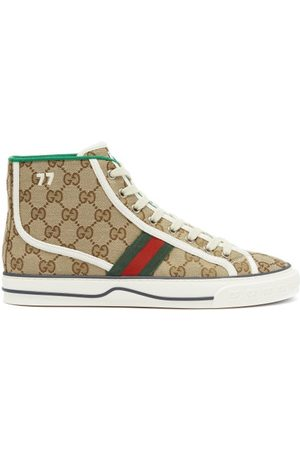Gucci 1977 Gg-supreme Canvas High-top Trainers - Womens - Multi