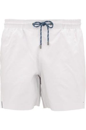 MARANÉ Slim-fit Swim Shorts - Mens - White