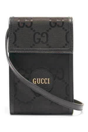 Gucci Off The Grid Gg-jacquard Canvas Cross-body Bag - Mens - Black