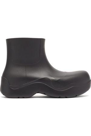 Bottega Veneta Bv Puddle Biodegradable-rubber Ankle Boots - Mens - Black