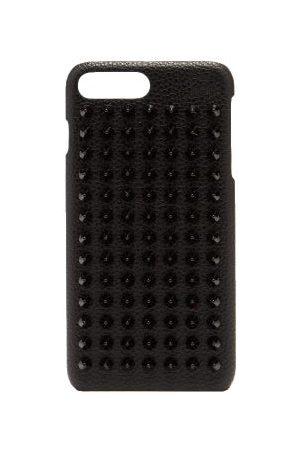 Christian Louboutin Heren Telefoon - Loubiphone Spike Leather Iphone® 7+/8+ Case - Mens - Black