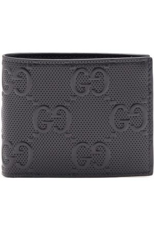 Gucci Logo-embossed Leather Bifold Wallet - Mens - Black