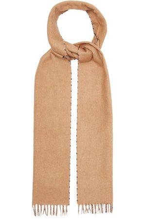 Prada Heren Sjaals - Checked Silk-blend Scarf - Mens