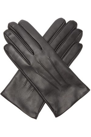 Dents Heren Handschoenen - Bath Cashmere-lined Leather Gloves - Mens - Black