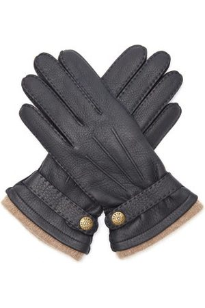 Dents Heren Handschoenen - Gloucester Leather Gloves - Mens - Navy