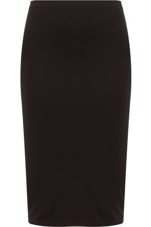 Wolford Fatal Midi Skirt - Womens - Black