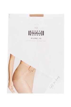 Wolford Dames Panty's & Maillots - Pure 10 Tights - Womens - Nude