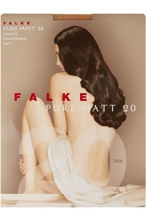 Falke Dames Panty's & Maillots - Pure Matte 20 Denier Tights - Womens - Nude