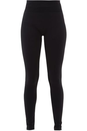 Wolford Perfect Fit Jersey Leggings - Womens - Black