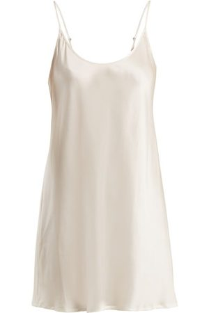 La Perla Semplice Silk-satin Slip Dress - Womens - Ivory