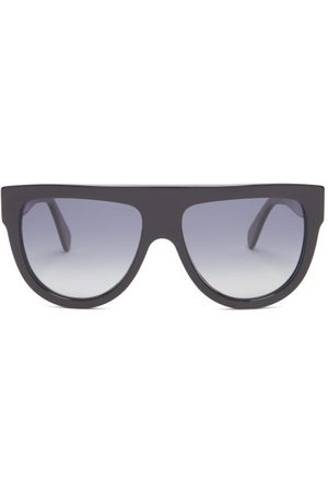 Céline Shadow D-frame Acetate Sunglasses - Womens - Black