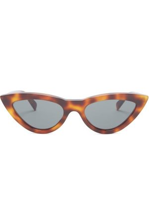 Céline Dames Zonnebrillen - Cat-eye Tortoiseshell Acetate Sunglasses - Womens - Brown