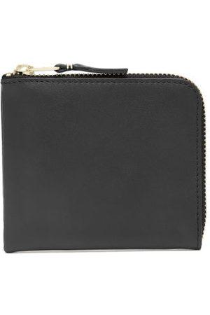 Comme des Garçons Classic Zipped Leather Wallet - Womens - Black