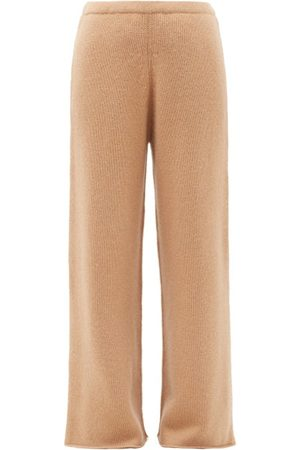 Raey Wide-leg Knitted Cashmere Trousers - Womens
