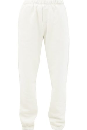 Les Tien Dames Joggingbroeken - Brushed-back Cotton Track Pants - Womens - Ivory