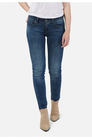 G-Star Dames Straight - Midge Saddle Mid Straight Jeans