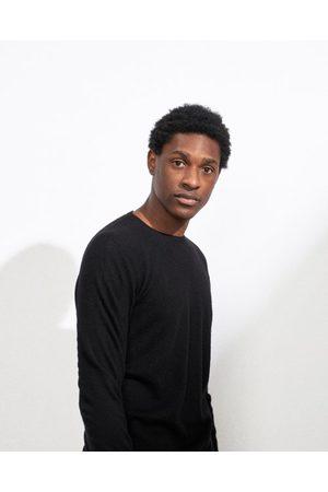 Raey Slim-fit Crew-neck Cashmere Sweater - Mens - Black