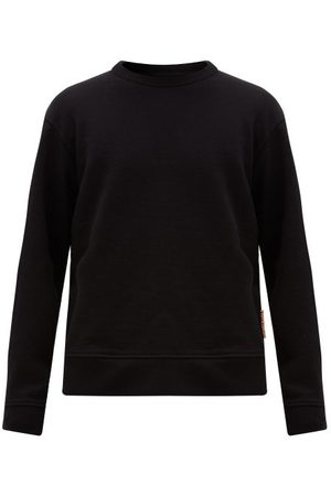 Acne Studios Fate Cotton-blend Sweatshirt - Mens - Black