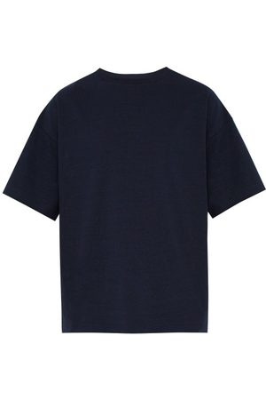 Raey Relaxed-fit Cotton-jersey T-shirt - Mens - Navy