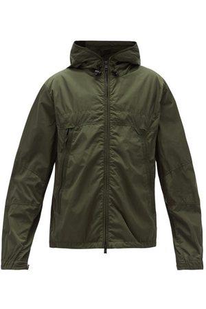 Moncler Technical Zip-through Hooded Jacket - Mens - Khaki