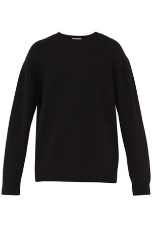 Raey Loose-fit Crew-neck Cashmere Sweater - Mens - Black