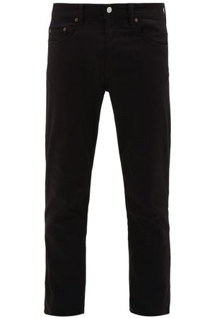 Acne Studios River Cotton-blend Slim-leg Jeans - Mens - Black