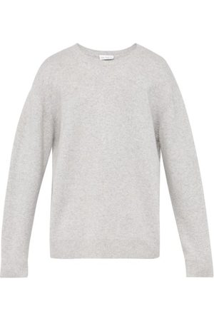 Raey Loose-fit Crew-neck Cashmere Sweater - Mens - Grey Marl