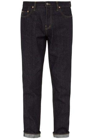Raey Heren Slim - Raw Selvedge Denim Slim-leg Jeans - Mens - Indigo