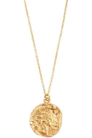 Alighieri Leo 24kt Gold-plated Necklace - Mens - Gold