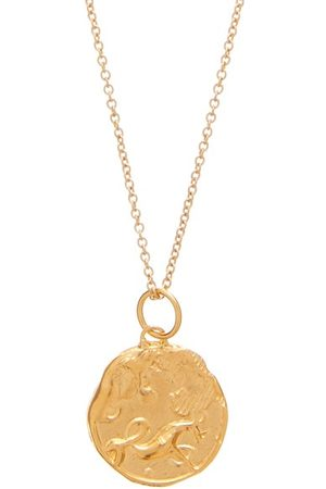 Alighieri Capricorn 24kt Gold-plated Necklace - Mens - Gold
