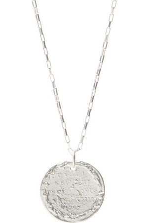 Alighieri The Snow Lion Sterling-silver Necklace - Mens - Silver
