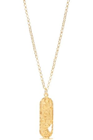 Alighieri Canto V 24kt Gold-plated Necklace - Mens - Gold