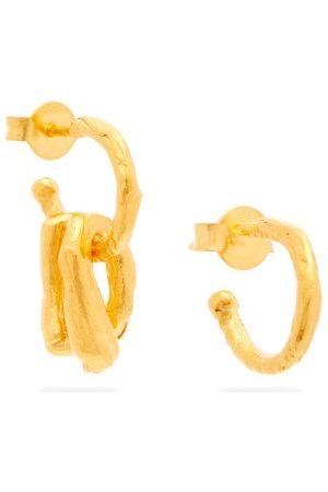 Alighieri The Dark Wood 24kt Gold-plated Earrings - Mens - Gold