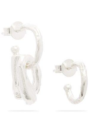 Alighieri The Dark Wood Sterling-silver Earrings - Mens - Silver