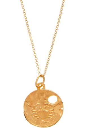 Alighieri Cancer 24kt Gold-plated Necklace - Mens - Gold