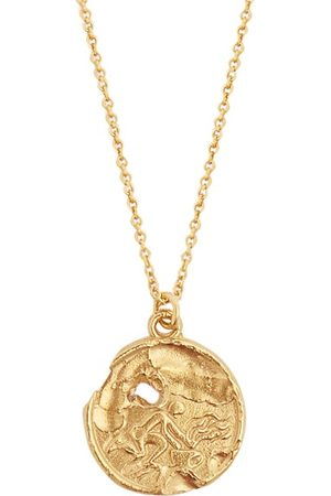 Alighieri Heren Kettingen - Aquarius 24kt Gold-plated Necklace - Mens - Gold