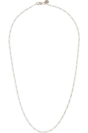 TOM WOOD Heren Kettingen - Figaro Sterling-silver Necklace - Mens - Silver