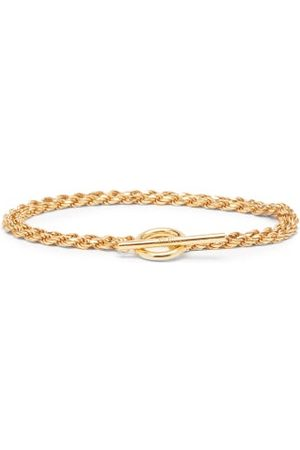 ALL BLUES Heren Armbanden - Rope Double-chain Gold-vermeil Bracelet - Mens - Gold