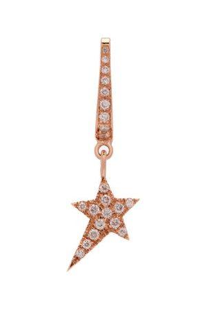 Diane Kordas Star-charm 18kt Rose-gold Single Earring - Womens - Gold