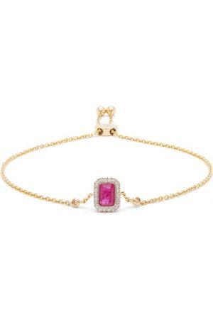 Anissa Kermiche July Diamond, Ruby & 14kt Gold Bracelet - Womens - Red