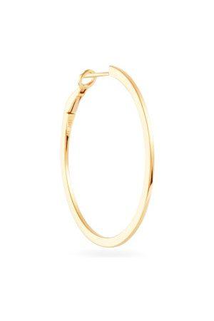 Maria Tash Dames Oorbellen - Single 18kt Gold Hoop Earring - Womens - Yellow Gold