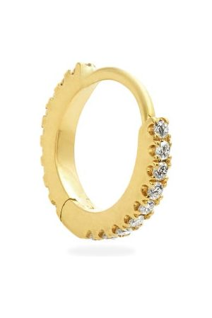 Maria Tash Eternity Diamond & 18kt Gold Single Earring - Womens - Gold
